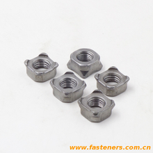 BS7670-1 Square Nuts For Resistance Projection Welding [Table 3]