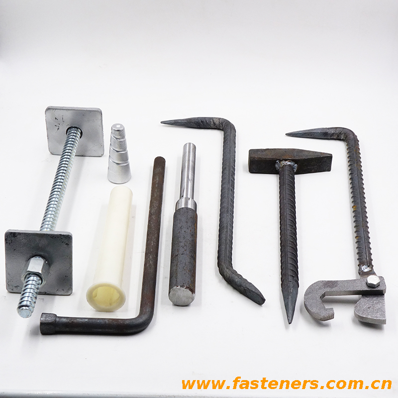 Tools for aluminum formwork construction of concrete building