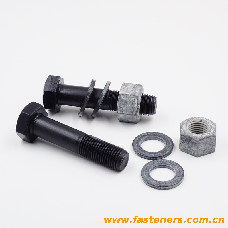 DIN6914 High Strength Hexagon Bolts With Large Widths Across Flats For Structural Bolting