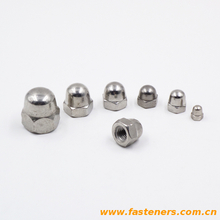 DIN1587 Hexagon Domed Cap Nuts High Type stainless steel Acorn Nuts