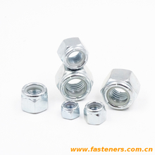 ASME B18.16.6 Nylon Insert Locknuts (Inch Series) Nylon lock nuts